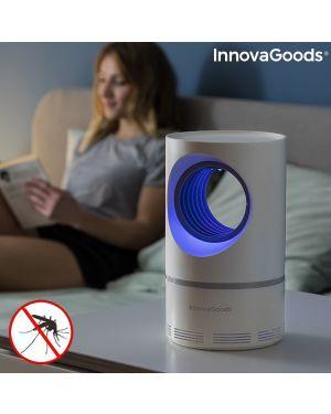 Lampe anti-moustiques à aspiration