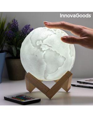 Lampe LED Rechargeable Planète Terre