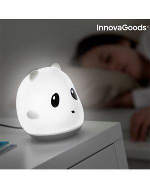 Lampe LED rechargeable tactile en silicone panda