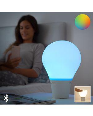 Lampe LED Tactile en Silicone avec Haut-Parleur