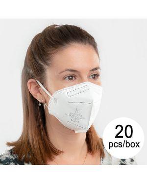 Lot de 20 Masques de Protection FFP2