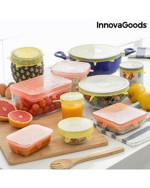 Set de 10 Couvercles de Cuisine Réutilisables et Réglables