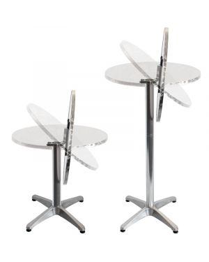Table Bistrot modulable et reglable en hauteur