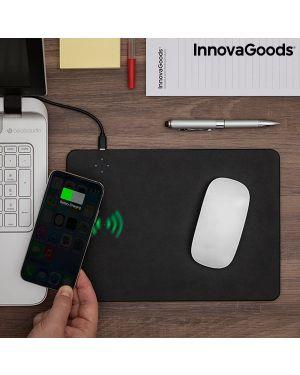 Tapis de souris avec chargeur sans fil intégré