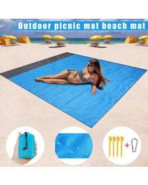 Couverture de plage imperméable 200cm x 210 cm